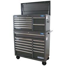 "Pro Elite Chest and Rolling 40"" Wide 24 Drawer Combination Set"