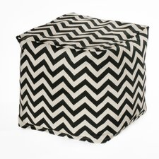 Chevron Bean Bag Cube