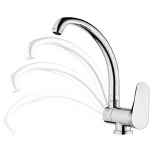 Single Handle Deck Mounted Kitchen Sink Faucet