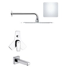 <strong>Remer by Nameek's</strong> Peleo Pressure Balance Tub and Shower Faucet
