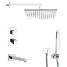 Tyga Thermostatic Tub and Shower Faucet