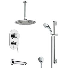 Galiano Pressure Balance Tub and Shower Faucet