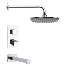 <strong>Remer by Nameek's</strong> Peleo Thermostatic Tub and Shower Faucet