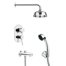 <strong>Remer by Nameek's</strong> Tyga Pressure Balance Tub and Shower Faucet
