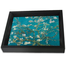 Van Gogh Almond Blossom Original Painting Shadow Box