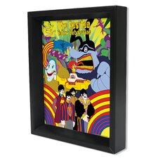 Beatles Submarine Graphic Art Shadow Box
