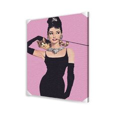 <strong>Ace Framing</strong> Audrey Hepburn Canvas