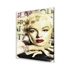 Marilyn Monroe Glamour Canvas