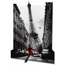 3D La Veste Rouge Framed Photographic Print