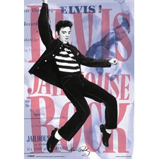 <strong>Ace Framing</strong> Framed 3D Elvis Dance Poster