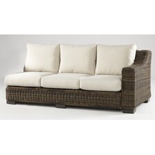 Naples Right Arm Sectional Piece with Cushions