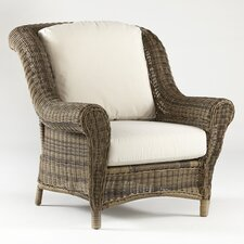 <strong>South Sea Rattan</strong> Provence Deep Seating Chair with Cushion