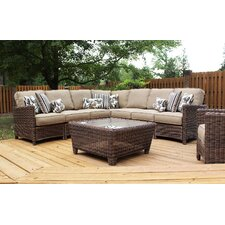 Del Ray Sectional Deep Seating Group