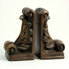 Fleur de Lis Book Ends (Set of 2)
