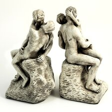 <strong>Bey-Berk</strong> The Kiss Book Ends (Set of 2)