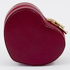 <strong>Bey-Berk</strong> Small Heart Shaped Jewelry Case