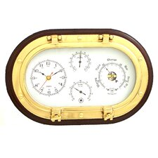 "12"" Porthole Wall Clock"