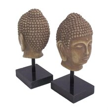 Buddha Marble Base Book Ends (Set of 2)