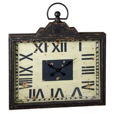 "33.08"" Rectangle Pocket Watch Clock"