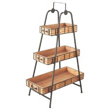 3 Tier Shelf with Removable Tray
