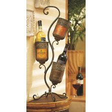 3 Bottle Table Top Wine Rack