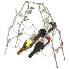 7 Bottle Table Top Wine Rack