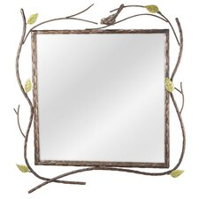 Bird and Twig Wall Mirror