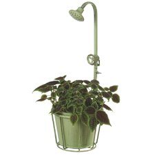 Water Spicket Round Pot Planter