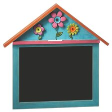 Floral Shadow Box Chalkboard