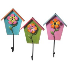 Floral Wall Hook (Set of 3)