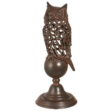 <strong>CBK</strong> Owl on Pedestal Statue