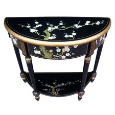 Blossom Half Moon Console Table