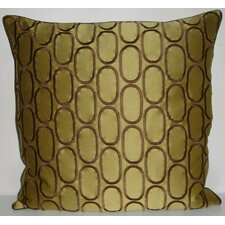 <strong>Edie Inc.</strong> Oval Pod Embroidery Decorative Pillow