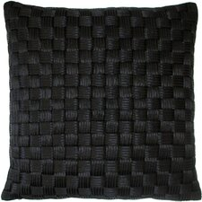 Basket Weave Cord Decorative Pillow