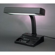 "Therapeutic 21"" H Table Lamp with Rectangle Shade"