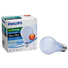 <strong>Philips Home and Healthcare Solutions</strong> EcoVantage Light Bulb (Pack of 2)