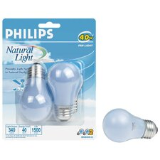 <strong>Philips Home and Healthcare Solutions</strong> Incandescent Light Bulb (Pack of 2)