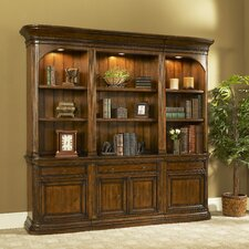 "<strong>Strongson Furniture</strong> Winsome 79"" Bookcase with Drawer and Door Storage"