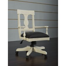 <strong>iQuest Furniture</strong> Barton Park Mid-Back Office Chair with Arms