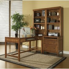<strong>iQuest Furniture</strong> Companion Modular Desk and Return with Bookcase