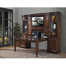 <strong>iQuest Furniture</strong> Madison Hangout Desk with Hutch