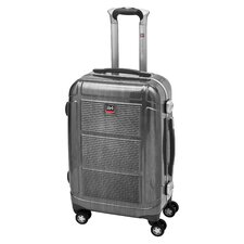 "<strong>Mancini</strong> Armour-1 20"" Hardsided Carry-On Spinner Suitcase"