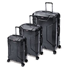 Armadillo 3 Piece Spinner Luggage Set