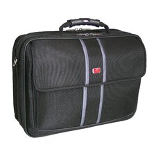 Biztech CompuCase 2-Double Compartment Laptop Briefcase