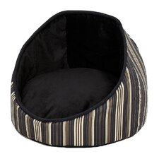 Quiet Time Cabana Reversible Stripes Bolster Dog Bed