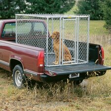 <strong>Midwest Homes For Pets</strong> Steel Chain Link Portable Yard Kennel
