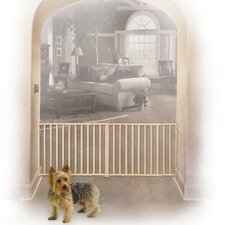 Extra Wide Rail and Baluster Pet Gate
