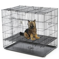 Puppy Playpen Plastic Pan Yard Kennel