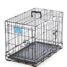 <strong>Midwest Homes For Pets</strong> Life Stages Fold and Carry Double Door Pet Crate