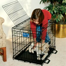 Life Stages Fold and Carry Double Door Pet Crate